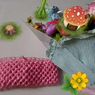 日系粉紅頭巾🍀