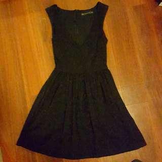 Zara Trafaluc Lace Dress Small
