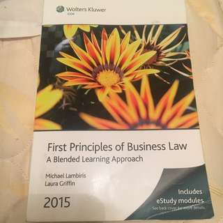 First principles of business law: A blended learning approach