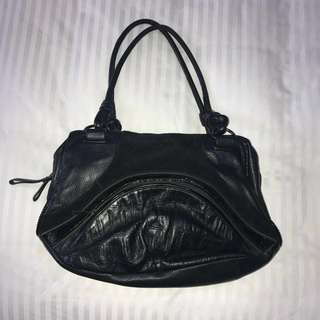 Black Mimco Shoulder Bag