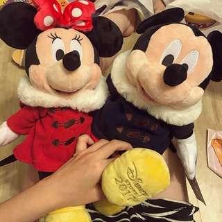 🚚 日本代購Disney store 米奇米妮S號一對