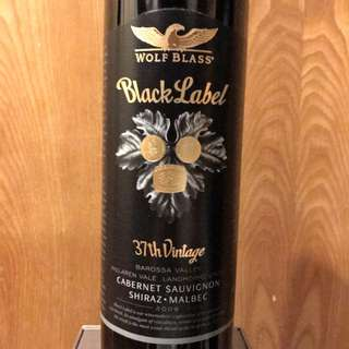 (澳洲) Wolf Blass Black Label 37th Vintage 2009