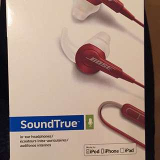 Bose SoundTrue in-ear headphones for Apple