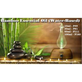 Fresh Bamboo Essential Oil (Water-based) for Air Humidifier / Diffuser & Others