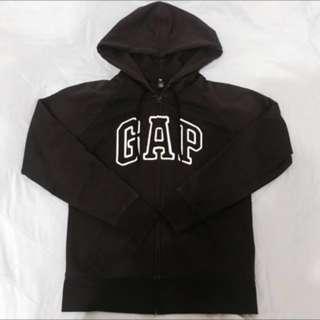 GAP 黑色鋪棉連帽外套 女版M號