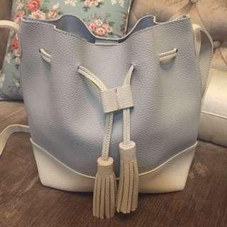 Bucket Bag Light Grey