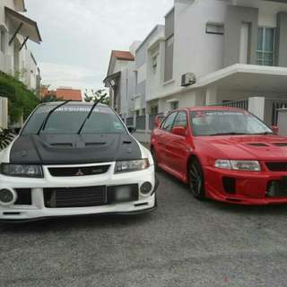 Mitsubishi Lancer Evo 6 Evo6 Turbo Evolution