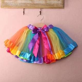 colorful tutu skirt