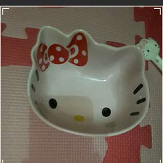 Hello kitty ceramic bowl
