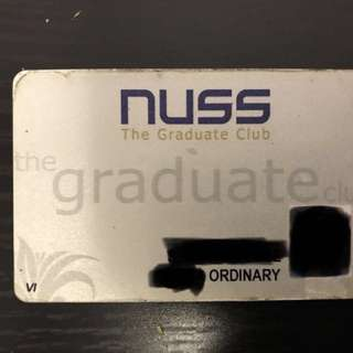 NUSS - Graduate Club Membership (Ordinary)