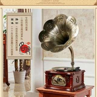 Antique Gramophone Audio Player