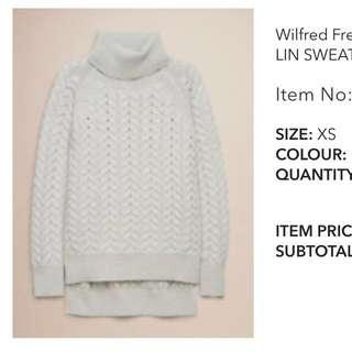 Aritzia Sweater XS