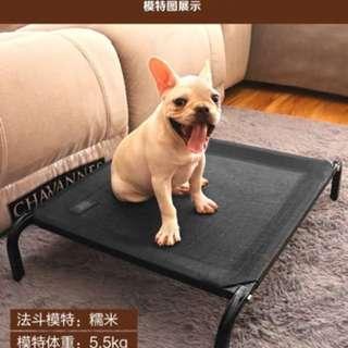 狗窩可拆洗秋冬寵物貓床行軍床大型犬透氣床墊四季款