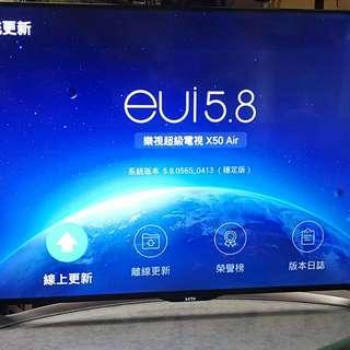 Letv X50 Air 樂視50吋4k電視(有死點注意)