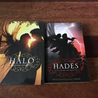Halo books carousell philippines halo and hades alexandra adornetto bundle fandeluxe Choice Image