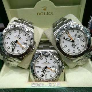 Rolex 216570 大白橙 42mm大錶面 全套齊  3隻同價 2013-2015錶 先到先選 98%新