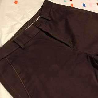 Basic House Maroon Chinos Size 29