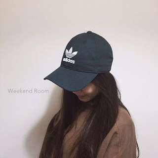 adidas Trefoil Cap 三葉草 電繡 老帽🍀