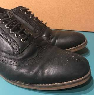 American Eagle PH Black Brogues