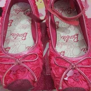 Barbie kids shoe