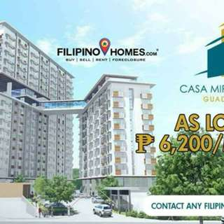 Own a condo in Guadalupe for as Low as 6200/month