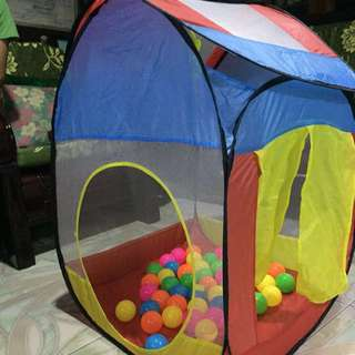 REPRICED PLAY TENT FOR KIDS