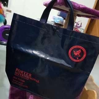 Porter International nylon shopping bag