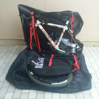 For RENT: AeroComfort Triathlon Bike Bag incl Free Delivery and Pick Up