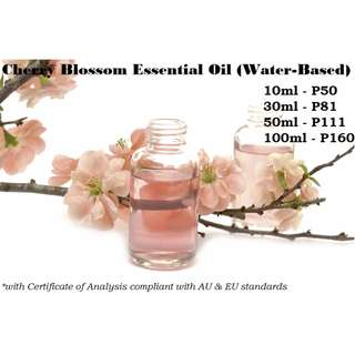 Cherry Blossom / Sakura Essential Oil (Water-based) for Air Humidifier / Diffuser & Others
