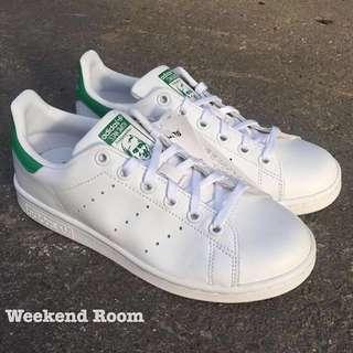 Adidas Stan Smith 白綠皮革