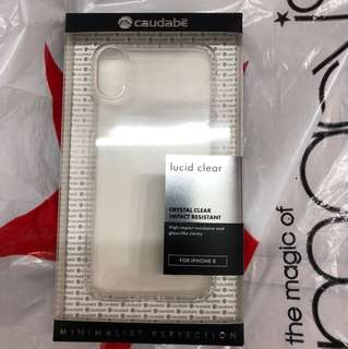 iPhone X caudabe lucid clear (crystal)