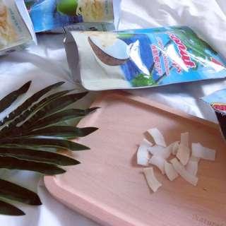 泰國🇹🇭帶回-椰子脆片