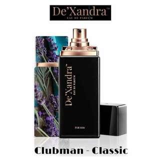 DE'XANDRA PERFUME FOR MEN - CLUBMAN(CALVIN KLEIN ETERNITY)