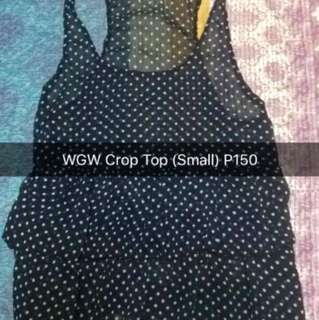 WGW Crop Top (Small)