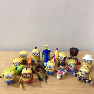 Happy Meal - Minion Toys