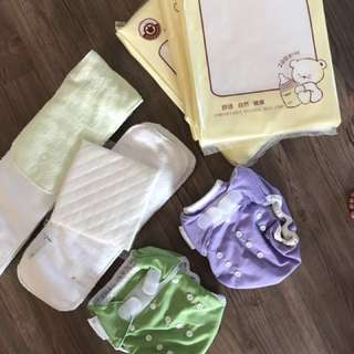 Washable Breathable Baby Cloth Diaper with Insert