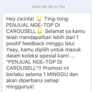 Thank u carousell 😍🙏🙏