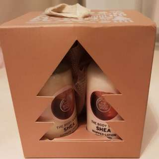 Body Shop Shea Butter Gift Set