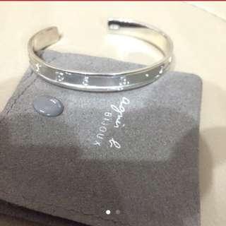 Agnes B bracelet 925 silver