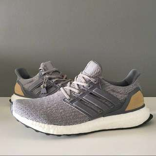 SALE  Adidas Ultra Boost Grey Leather 3.0 0d69e2898