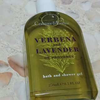 Nov 17Crabtree and Evelyn Verbena & Lavender de Provence Bath and Shower Gel