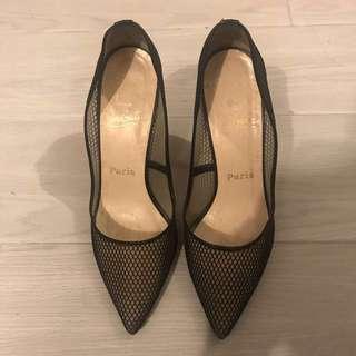 Christian Louboutin sexy net heels 魚網高跟鞋
