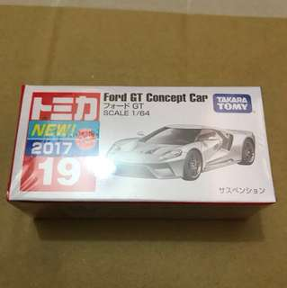 Tomica 19 Ford GT Concept Car