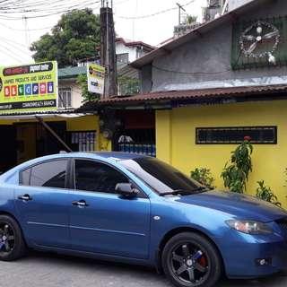 Mazda 3 Blue