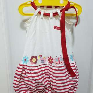 Bambini baby balloon dress 6-9mo