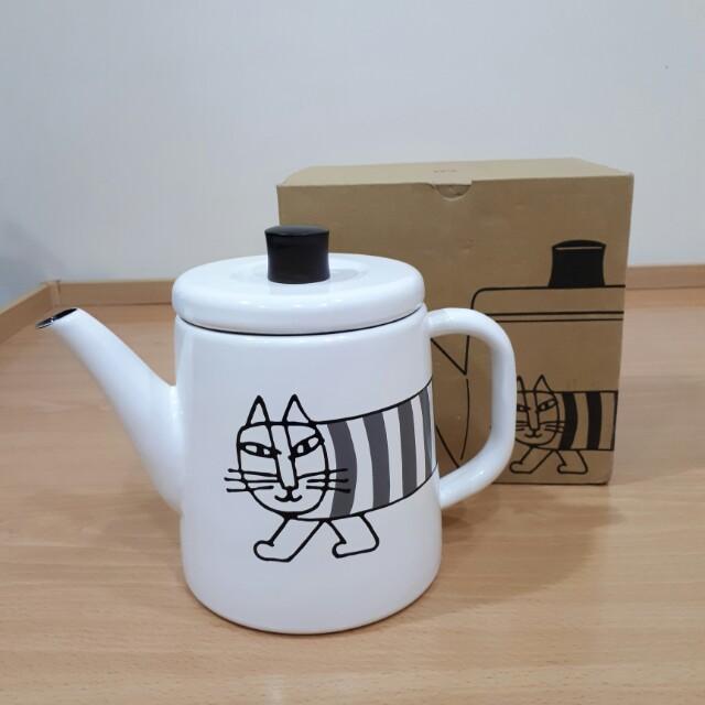 日本製可愛貓壺(露營迷可參考)