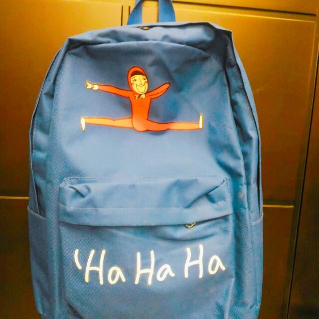 體操人後背包