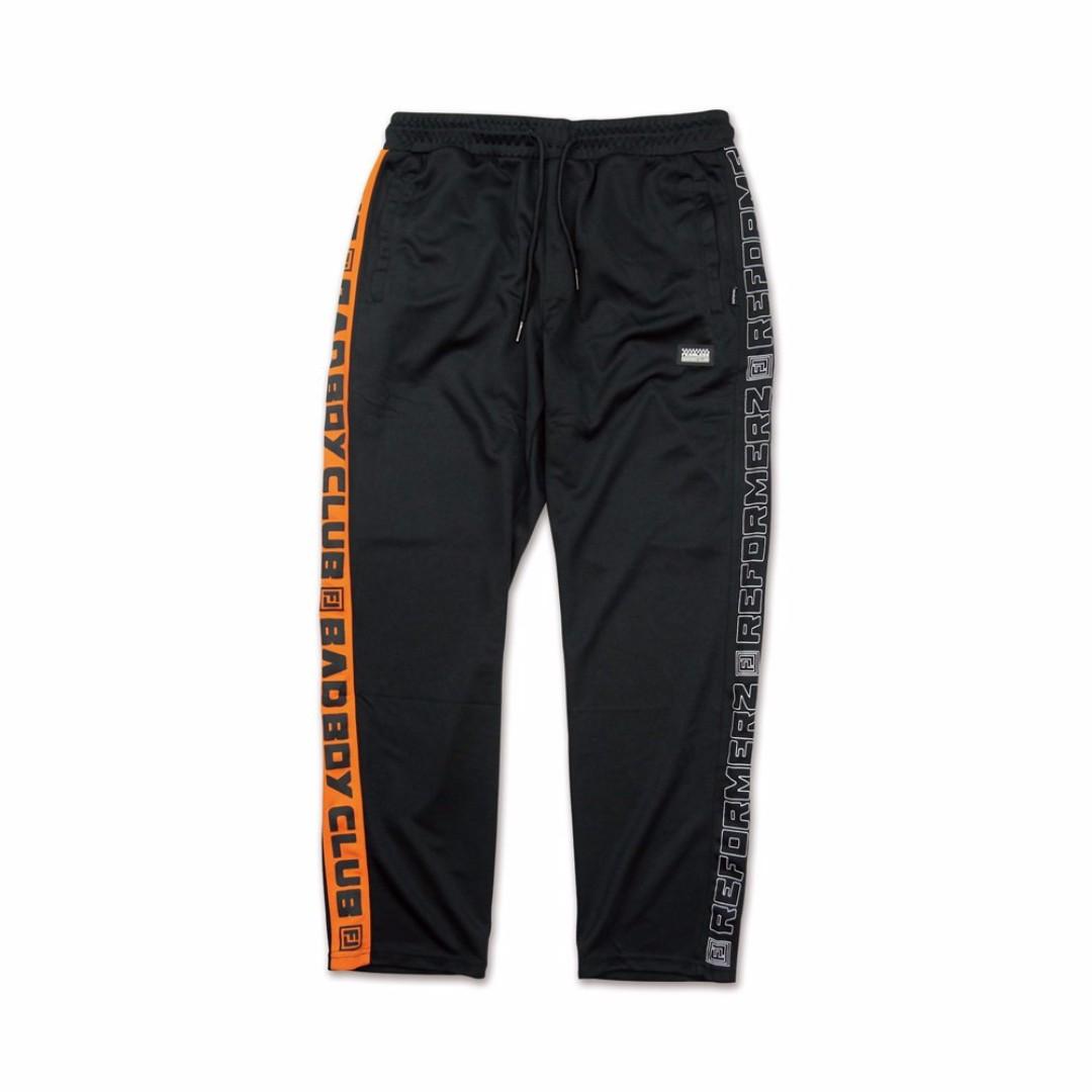 【限時特價】 BBC x RFMZ 聯名運動套裝 褲子 黑 橘
