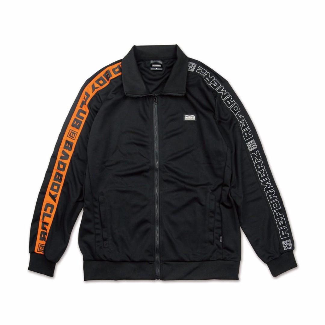 【限時七折套裝】 BBC x RFMZ 聯名運動套裝 黑 橘 整套 3560 2490