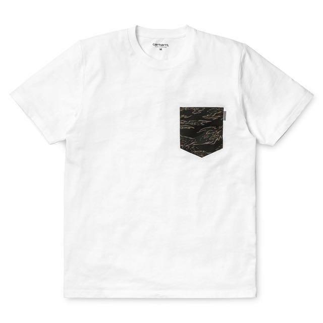 [全新] Carhartt wip 迷彩口袋TShirt 類似虎斑迷彩wtaps madness